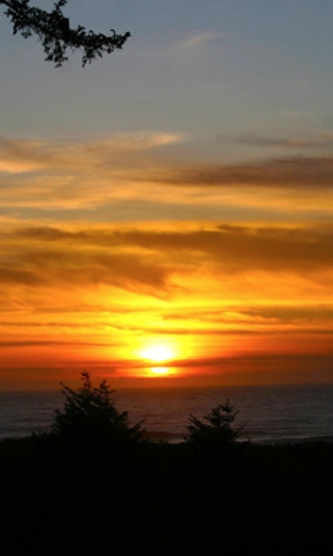 Sunset, Oregon Coast