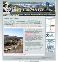 View-lot Subdivision, Ridgway, Colo. WP & QR Code Responsive