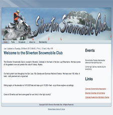 Snowmobile Club  Self-maintained.