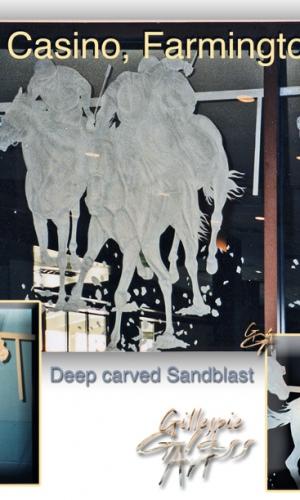 Gillespie Glass Art SunRay Casino