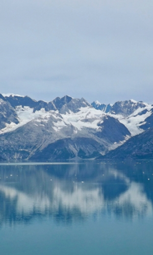 Glacier Bay Reflection. Alaska