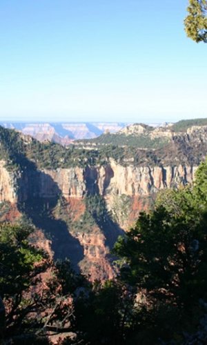 Bright Angel Point, Grand Canyon, North Rim.