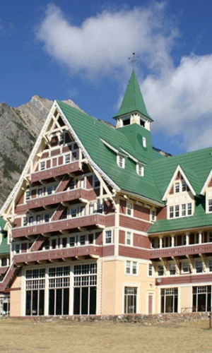 Prince of Whales Hotel, Waterton, Canada